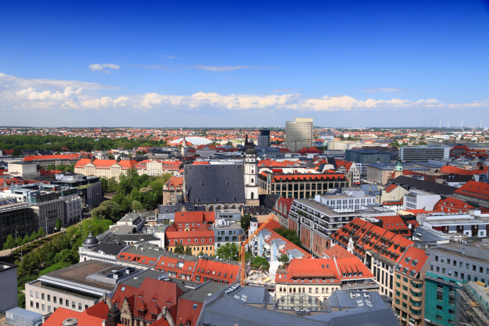 Leipzig is the largest city in the federal state of Saxony in Germany.